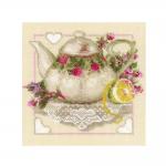 Наборы для вышивки крестом 1477 Чай с лимоном