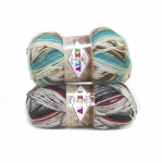 Mustrit moodustav lõng Wool Motif / Wool Motif Knitting Yarn / Alize (Türgi)