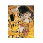 Cross-Stitch Kit Riolis 1170 The Kiss after G. Klimt`s Painting