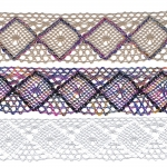 Half-Cotton (Crochet) Lace Art.1403 / 4cm
