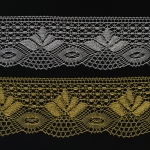 Lace Brocade / Crochet Lace / Art.3185 / 7cm