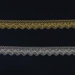 Metallikniidist õrn pits Art.3207 laiusega 2cm