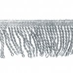 Бахрома из ниток люрекс AA139/NFA11/7cm