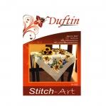 Poollinane päevalilledega laudlina /Duftin / Art. 14-303