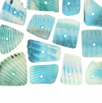 Dyed Natural Shell Beads / 9-20mm