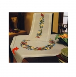Poollinane suvelilledega laudlina seeriast Mary Ann / Duftin / Art. 7065