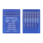 Sewing Machine & Overlock Light Ball Point Needles, System: DBx1 SES; 1738 SES; 16X231 SES; 287 WH SES
