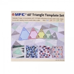 Clear View Triangle Templates set, YFC (Taiwan), RN-5530