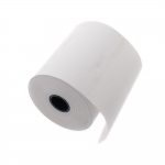 Thermal receipt printer; cash register paper roll