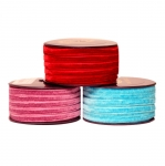 Velvet ribbon 7,5mm Art.3437R