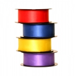 Double Sided Satin Ribbon / Art.3202 / 38mm