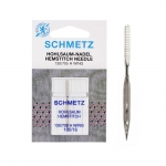 Hemstitch needle, Wing Needle for Homehold Sewing Machines, Schmetz (Germany)