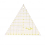 Clear Wiew Triangle Ruler 60°, 23cm × 23cm × 23cm / SewMate (Taiwan) MT6020