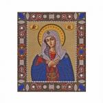 Наборы для вышивания бисером Богородица «Умиление» D6022 / НОВАЯ СЛОБОДА