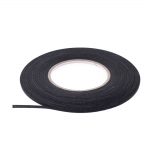 Strong textile tape, black, 4mm, 50m