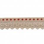 Cotton (Crochet) Lace Art.T134 / 3,5cm