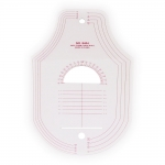 Clear View plastic French Curve Ruler #8404