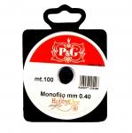 Tamiil ehete valmistamiseks / Monofilament Cord / 0.4 mm; 100m (P&G, Hobbyline)