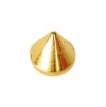 Metallist, koonusekujuline, õmmeldav neet, 12mm