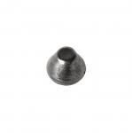 Metallist, koonusekujuline, õmmeldav neet, 11x9mm