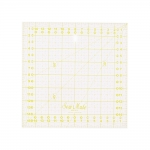 Clear View Plastic Ruler 16cm x 16cm / SewMate #M1616