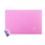 Leikuualusta, 45cm x 30cm, pinkki/sininen, SewMate/Donwei DW-12123(AC)