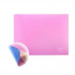 Cutting Mat 45cm x 60cm, blue/pink, SewMate/Donwei DW-12122(AC)