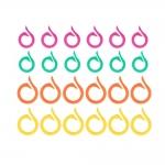 Split Ring Markers, 24 pcs, Pony 60638