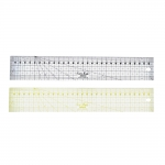 Clear View Plastic Ruler 5cm × 30cm, SewMate M0530