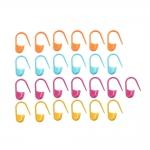 Safety (locking) Stitch Markers 25pcs/set, Pony 60672