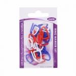 Stitch Markers, 12pcs small + 9pcs large / ISEW (Taiwan)