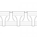 Curtain Tape 35 mm, RZ3/ZW-250