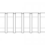 Шторнaя тесьмa 25 мм, TF5-200