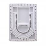 Pärlite, helmeste, kristallide sorteerimisalus / Pro-Design Beading Board, 33x24x1,5 cm, 7A899