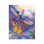 Cross-Stitch Kit Riolis Art.0034 PT Bird of Happiness