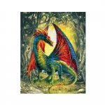Cross-Stitch Kit Riolis Art.0057 PT Forest Dragon