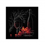 Наборы для вышивки крестом RIOLIS 1239 Натюрморт с красным вином