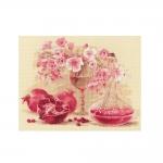 Наборы для вышивки крестом RIOLIS Art.1618 Розовый гранат