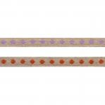 Puuvillane linalaadne kaunistuspael täpimustriga, Art.S001/ laiusega 10mm