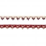 Pitsinauha (puuvilla) 3480, 1 cm