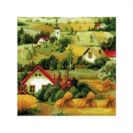 Cross-Stitch Kit RIOLIS Art.1569 Serbian Landscape
