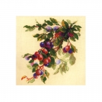 Cross-Stitch Kit Riolis 1616 Branch of Plum