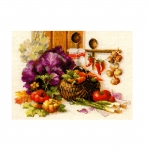 Cross-Stitch Kit Riolis 1544 Rich Harvest