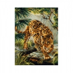 Cross-Stitch Kit Riolis 1549 Owner of the Jungle