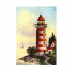 Cross-Stitch Kit Riolis 0044 PT Lighthouse