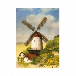 Cross-Stitch Kit Riolis 0045 PT Windmill