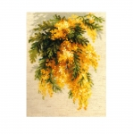 Cross-Stitch Kit Riolis 1615 Mimosa