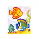 Bead Embroidery Kit Art. 0062 PT Sea Fish