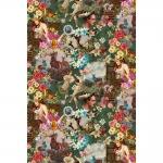 Rõõmsa peomeeleolu mustriga puuvillane kangas Art. BB/91070-01