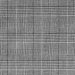 Ruudumustriga kostüümiriie, 178495, 150cm